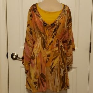 Women's New York & Co blouse Size Medium